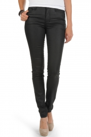 Blugi Vero Moda Track - Black Heavy Coated