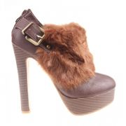 Botine dama brown Gala