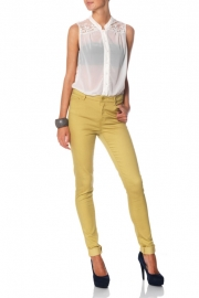 Blugi Skinny Vero Moda Wonder Colour Denim Jeggings Shautheru