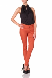 Blugi Skinny Vero Moda Wonder Colour Denim Jeggings Hot Sauce