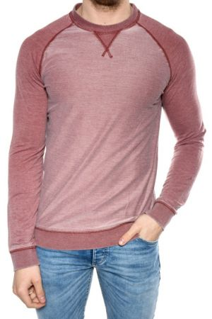 Bluza Bumbac Selected Dore Crew Neck Visiniu