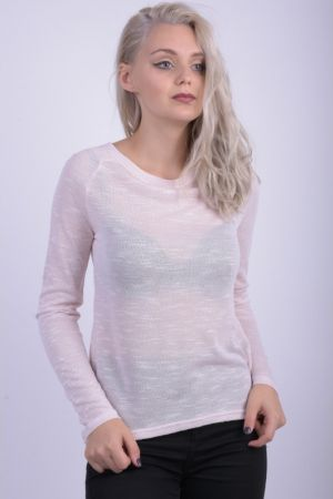 Bluza Dama Vila Viparel O-neck Peach Blush