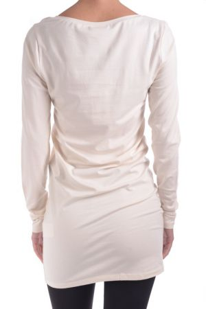 Bluza Dama Vila Officiel Long Light Grey Melange Pristine
