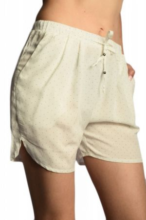 Pantaloni Scurti Vascoza Sisters Point Voice Cream