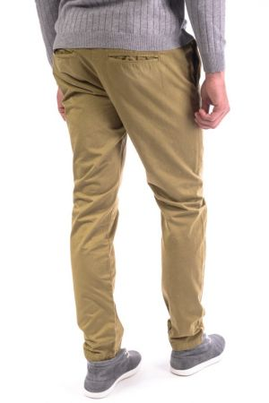 Pantaloni Lungi Bumbac Selected Five Todd Chino Aurii