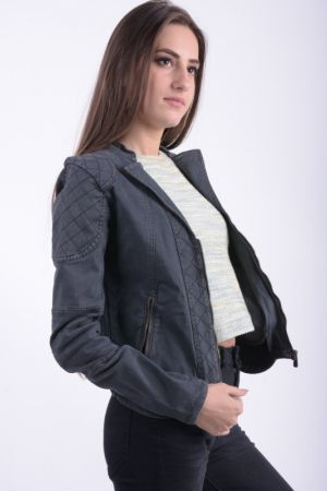 Jacheta Blugi Dama Fresh Made Vivian Dark Grey