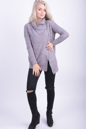Cardigan Dama Sublevel Sonia Middle Grey