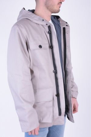 Geaca Jack&Jones Core90 M60 Ghost Gray