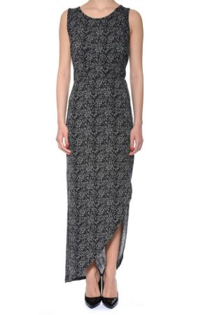 Rochie Noisy May Nmsappi Long Medium Grey Melange