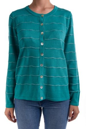 Cardigan Dama Signature Petra Tropical Green