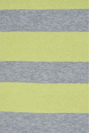 Pulover Bumbac Brandtex Judit Fistic Green Grey Stripes