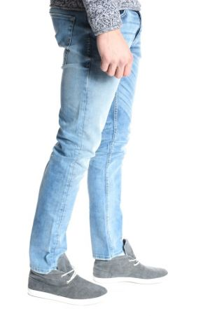 Blugi Jack&Jones Jjtim Original Jos 722 Slim Fit Blue Denim