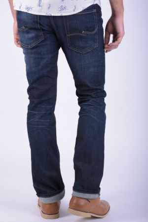 Blugi Barbati Jack&Jones Clark Original Jos 318 Dark Blue Denim Regular Fit