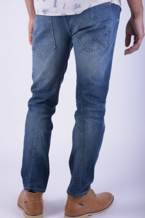 Blugi Barbati Jack&Jones Mike Ron Jos 245 Medium Blue Denim Comfort Fit
