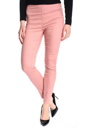 Pantaloni Lungi Bumbac Sisters Point Meno Dark Rose