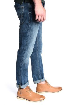 Blugi Barbati Jack&Jones Jjiclark Jjoriginal Jos432 Regular Fit Blue Denim
