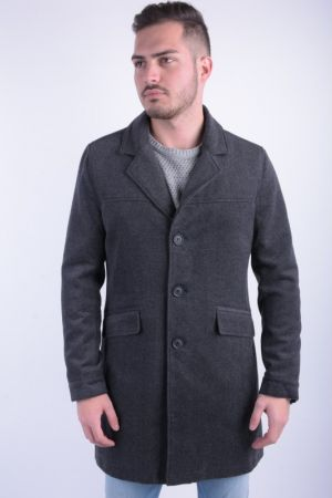 Palton Barbati Only&Sons Abel Coat Frost Gray