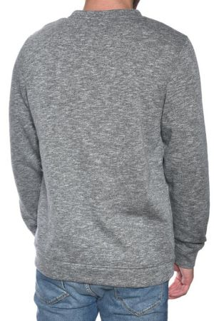 Bluza Groasa Barbati Jack&Jones Side Crew Neck Slim Grey Melange