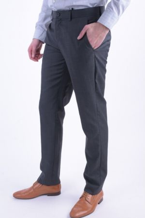 Pantaloni Lana Selected One Tax Pine Dark Grey