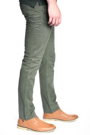 Pantaloni Barbati Selected Three Paris Forest Chino