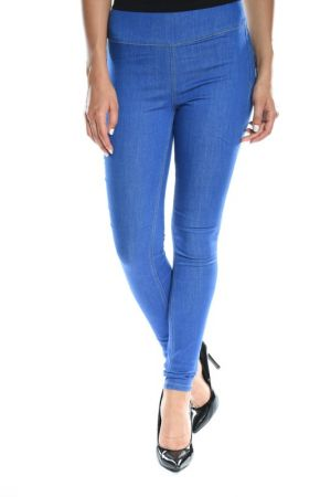 Blugi Dama Pieces Just Piero Medium Blue Denim
