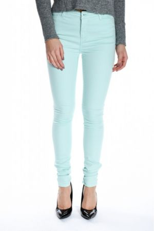 Pantaloni Dama Vero Moda Wonder Color Denim Turquoise Green