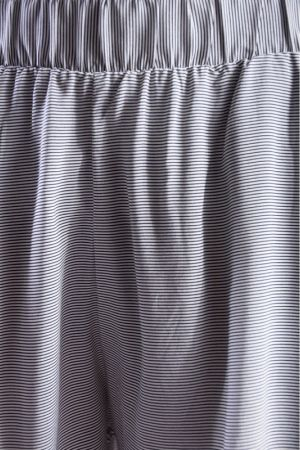Pantaloni Scurti Vascoza Vila Mask Striped Gri