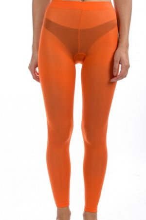 Colanti Dama Pieces New Nikoline Leggings Portocaliu