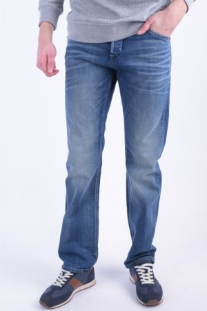 Blugi Jack&Jones Boxy Dash Loose Fit Blue Denim