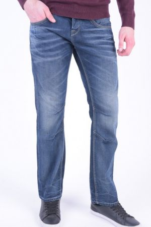 Blugi Jack&Jones Boxy Leed Jj979 Loose Fit Blue Denim