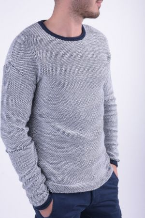 Pulover Jack&Jones Jjorjed Knit Crew Neck Regular Fit Cloud Dancer