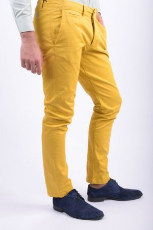 Pantaloni Jack&Jones Cody Graham Akm 201 Regular Fit Galben