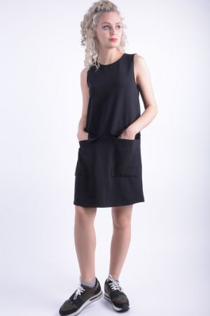 Rochie Casual First And I Firodeo Negru