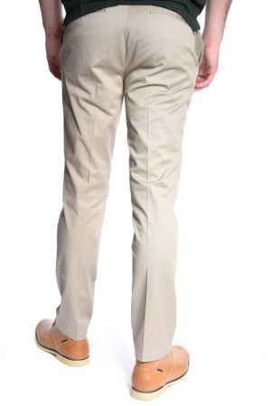 Pantaloni Lungi Bumbac Selected Two Preston Club Sand Gri