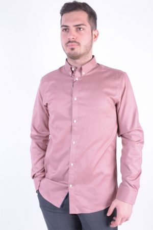 Camasa Selected Shdonemark Shirt Ls Slim Fit Burlwood