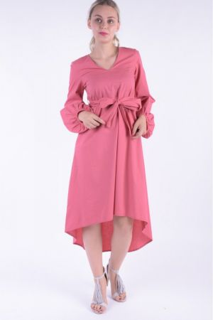 Rochie Vero Moda Vmmanor Mansion Midi Dress Slate Rose