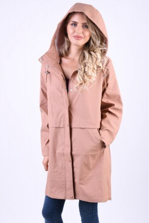 Geaca Parka Ploaie Vero Moda Friday 3/4 Coated Maro