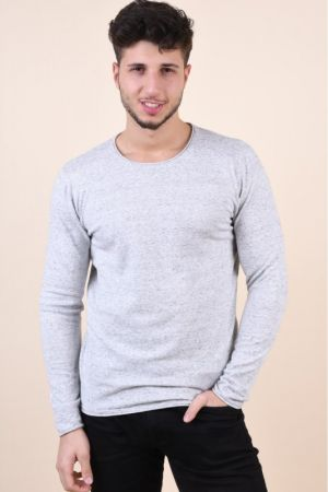 Pulover Jack&Jones Blasak Light Grey Melange