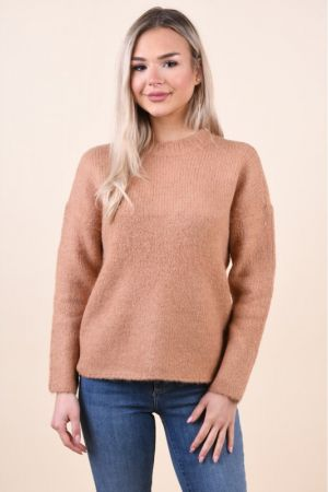 Pulover Selected Regina Camel
