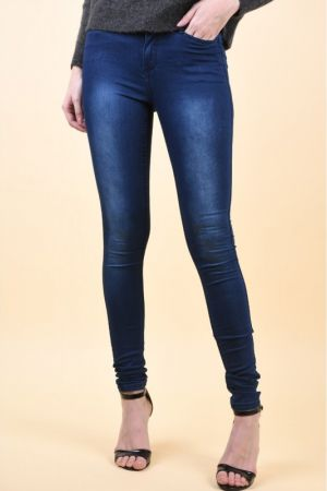 Blugi Vero Moda Wonder Denim Jegging Indigo