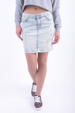 Fusta Scurta Blugi Noisy May Amanda Denim