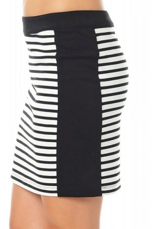 Fusta Scurta Vero Moda Tracy Striped