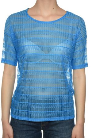Bluza Maneca Scurta Dama Vero Moda Wp Structure Brilliant Blue