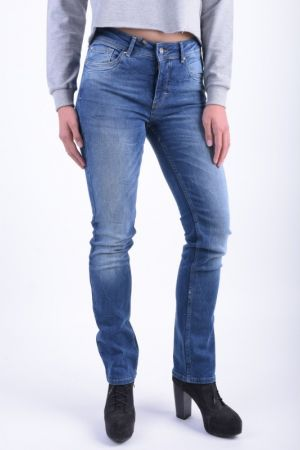 Blugi Dama Vero Moda Alshy Straight Dark Blue Denim  Medium Blue Denim