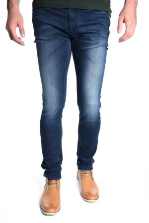 Blugi Barbati Jack&Jones Ben Classic Sc 622 Medium Blue Denim Skinny Fit