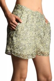 Pantaloni Scurti Vero Moda Meadow Tender Yellow