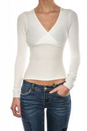 Bluza Vascoza Slim Noisy May Look Knit Bright White