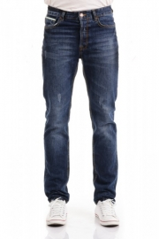 BLUGI SLIM FIT- PHILIP- SUPERJEANS OF SWEDEN - SUPERBLUE