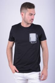 Tricou Bumbac Jack&Jones Core Christ Regular Fit Negru