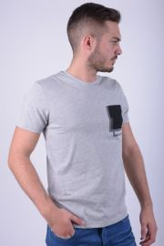 Tricou Bumbac Jack&Jones Core Christ Regular Fit Gri